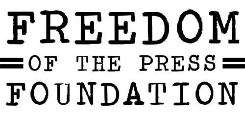 Logo ~ Freedom Of The Press Foundation