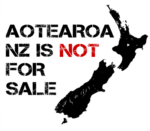 Aotearoa New Zealand is Not for Sale