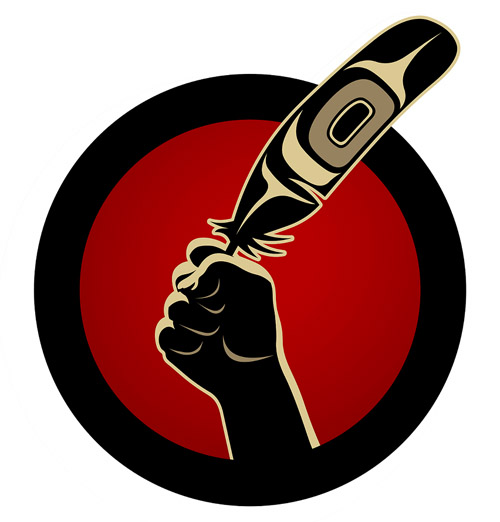 Idle No More logo by Andy Everson