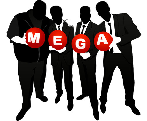 The team from Mega . . .