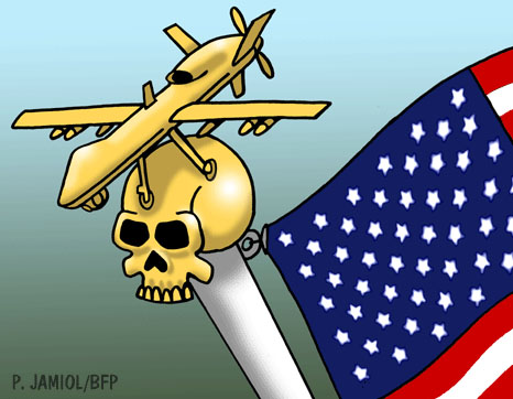 Drones ~ the US Government's flag of death