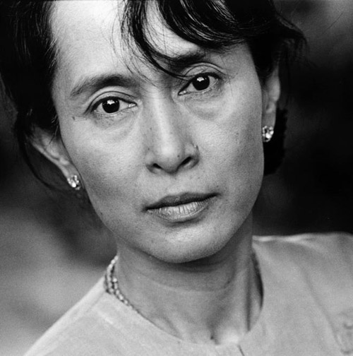 """""""Even under the most crushing state machinery courage rises up again and again, for fear is not the natural state of civilized man."""" ~ Aung San Suu Kyi"""