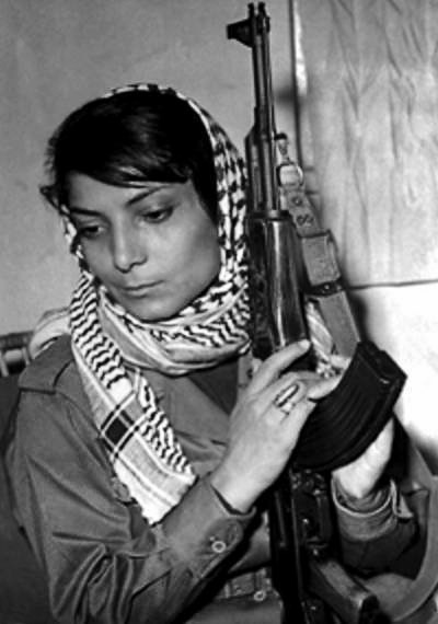 Image: Leila Khaled ― Palestinian freedom fighter