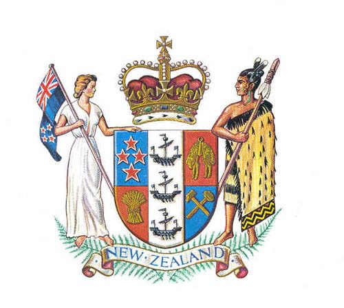 New Zealand's Coat of Arms