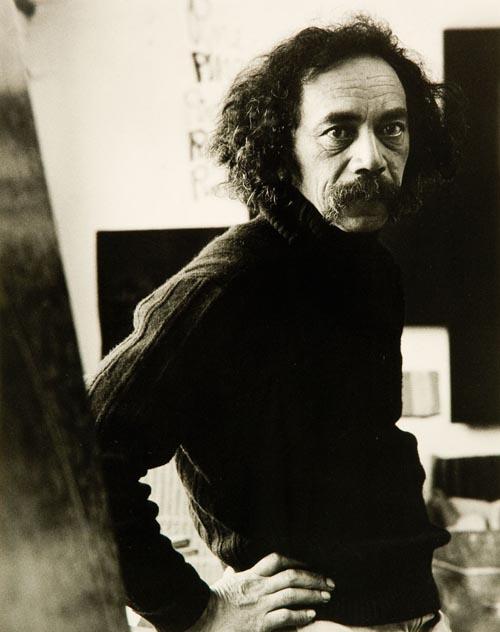Image: Ralph Hotere by Marti Friedlander (1978)