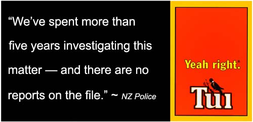 New Zealand Police ― covering up their corruption