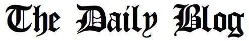 Image: The Daily Blog logo
