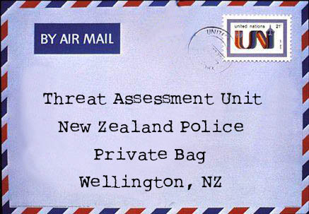 Image: Threat Assessment Unit ― New Zealand Police