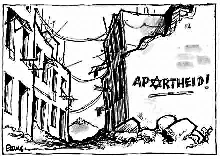 Image: Zionist Apartheid ~ Malcolm Evans