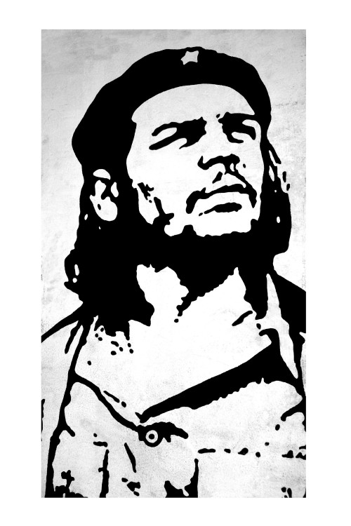 Image: Che Guevara poster ~ 4800 x 7200 resolution