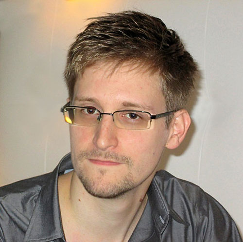 Image: Edward Snowden ~ UK Guardian photo