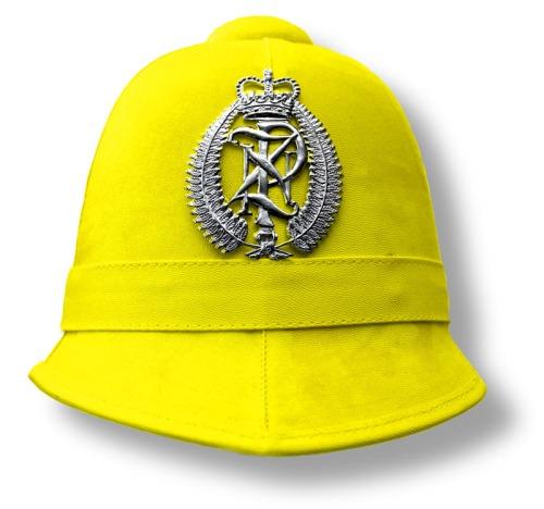 Image: Yellow for Cowardice — New Zealand Police Helmet