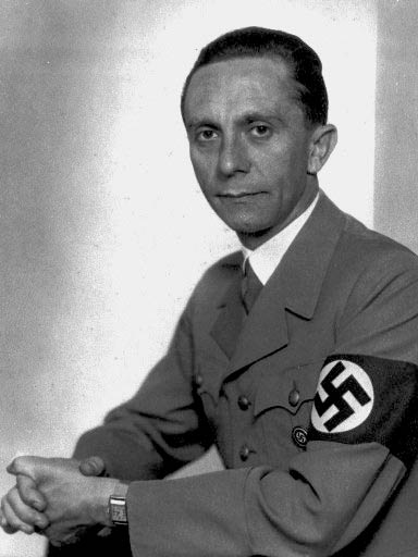 "Image: ""You have nothing to fear if you have nothing to hide"" ~ Josef Goebbels, Nazi German Minister of Propaganda (1933-45)."