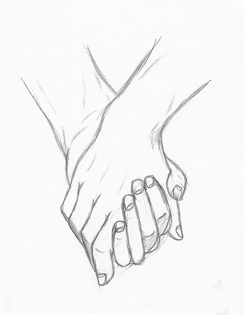 Image: holding hands