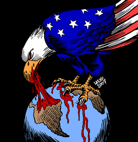 Image: US Government's Imperialism ~ Carlos Latuff