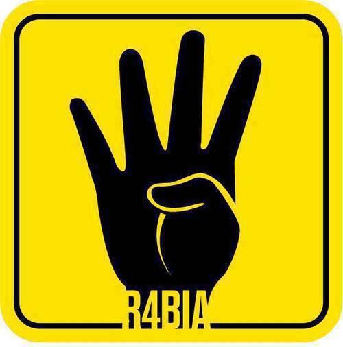 "Image:  ""Rabaa"" - #R4BIA"